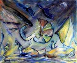 Ercilio Vidriales, dibujante y pintor matérico