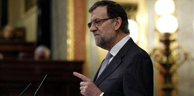 El presidente del Gobierno, Mariano Rajoy, durante debate sobre el estado de la nación / EFE