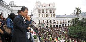 El presidente sudamericano agradece ante sus electores la contundente victoria cosechada el pasado domingo en las urnas.