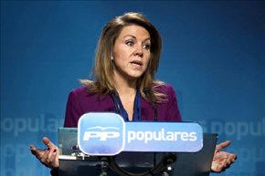 La 'número dos' del PP, María Dolores de Cospedal