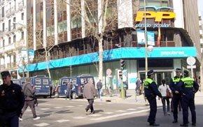 Sede del PP en calle Génova de Madrid (Imagen de archivo)