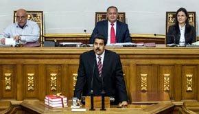 """""""Chávez está batallando por su vida"""", señaló Maduro"""