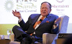 En la imagen, el magnate estadounidense Sheldon Adelson, presidente y consejero delegado de Las Vegas Sands Corp. (Archivo)