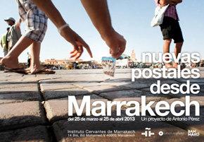 Exposición: Nuevas postales desde Marrakech