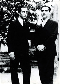 """Back tomorrow: A poet in New York.Federico García Lorca"""