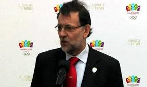 Rajoy afirma que España está preparada para Madrid 2020
