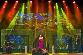 Un tributo a Enya envuelve al Teatro Cervantes de magia y mística celta