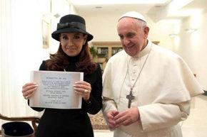 Fernández pide al Papa la mediación para conseguir un diálogo sobre las Islas Malvinas