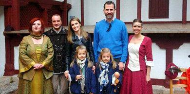Los príncipes de Asturias en Almagro