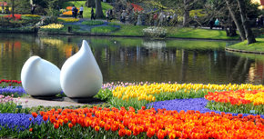 """Keukenhof, el """"jardín más bello del mundo"""" acaba de abrir sus puertas"""