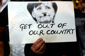 """El País"" retiró la columna en la que Merkel era comparada a Hitler"