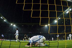 El adiós más doloroso para el Málaga en la Champions League.