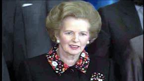 Doce citas célebres que resumen la carrera política de Margaret Thatcher