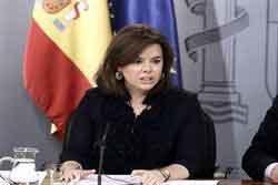 Santamaría dice que están 'muy avanzadas' las nuevas leyes que prepara el Gobierno para luchar contra la corrupción