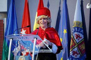 Esperanza Aguirre, investida Honoris Causa en la Universidad Alfonso X. FLICKR