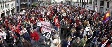 Fracaso sindical: 6,2 millones de parados y la mitad de manifestantes que en 2012