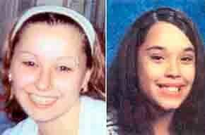 Dos de las niñas secuestradas