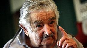 El presidente José Mujica, el pasado 17 de mayo, en su residencia a las afuera de Montevideo