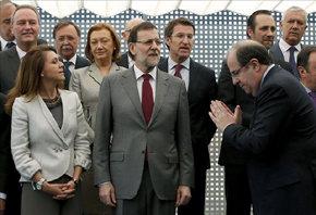Rajoy fracasa en su intento de lograr un acuerdo sobre el déficit con sus barones