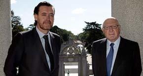 El director del Museo del Prado, Miguel Zugaza, y el presidente del Patronato, José Pedro Pérez Llorca. (EFE)