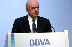 Francisco González, presidente de BBVA  -Foto: B.P.V./A.P.A.