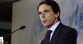 El expresidente del Gobierno y presidente de la Fundación FAES, José María Aznar. EFE