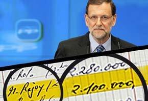 Captura campaña Change.org para pedir la dimisión de Mariano Rajoy