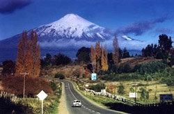 Camino al volcán Villarrica
