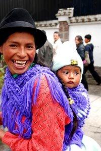 En Ecuador hay una gran variedad étnica
