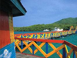 Puente de los enamorados en San Andrés