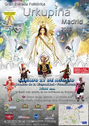 """""""La Virgen de Urkupiña"""", la fuerza y presencia de la colectividad boliviana en Madrid"""