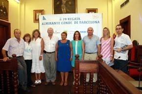 """La 29 edición de la regata """"Almirante Conde de Barcelona"""" suelta amarras en el Puerto de Alcudia"""