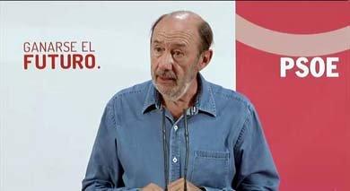 Rubalcaba reta al PP a que le demande tras insistir en que paga sobresueldos en B