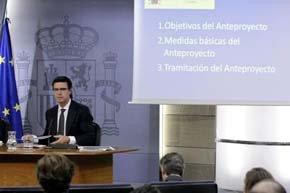 El ministro de Industria, José Manuel Soria