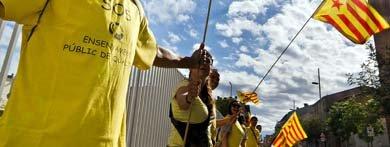 Margallo admite el éxito de la Via Catalana y aboga por escuchar