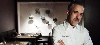 El chef Sergi Arola en su restaurante Gastro