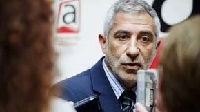 El diputado de IU y portavoz de Izquierda Abierta, Gaspar Llamazares