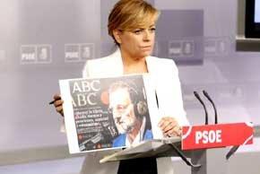 Elena Valenciano, la Nº del PSOE