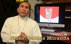 Obispo auxiliar de la ciudad de Ayacucho (Perú), Gabino Miranda