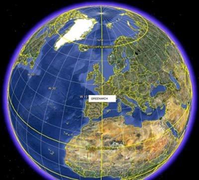 El meridiano de Greenwich pasa a 'algunos' kilómetros de Canarias...