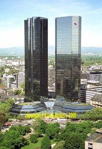Edificio del Deutsche Bank en Frankfurt