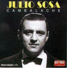 """Julio Sosa realizó una interpretación de """"la Comparsita"""" recitando versosde Celedonio Flores sobre la música original"""