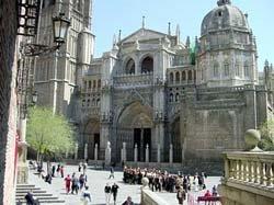 El monasterio de San Juan de los Reyes, en Toledo