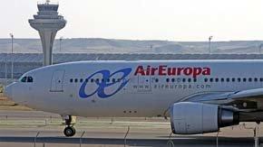 AIR EUROPA y Sky Team contara con 'hub' en Barajas