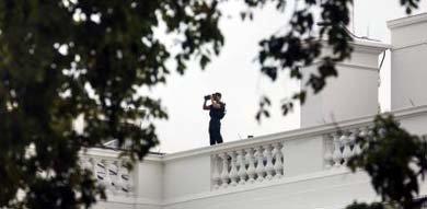 El Capitolio de Estados Unidos, cerrado después de un tiroteo en el que ha sido herido un policía
