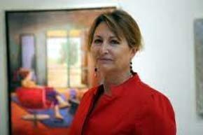 Pilar Sagarra expone su pintura en el espacio de UBS Bank en Madrid