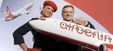 El consejero delegado de la aerolínea alemana Air Berlin, Hartmut Mehdorn. (EFE)