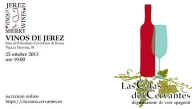 Las Catas del Cervantes: Los Vinos de Jerez