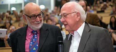 François Englert y Peter Higgs, ganadores del Premio Nobel de Física 2013