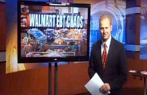 Vacían a la carrera dos supermercados de EEUU por un fallo en las tarjetas sociales